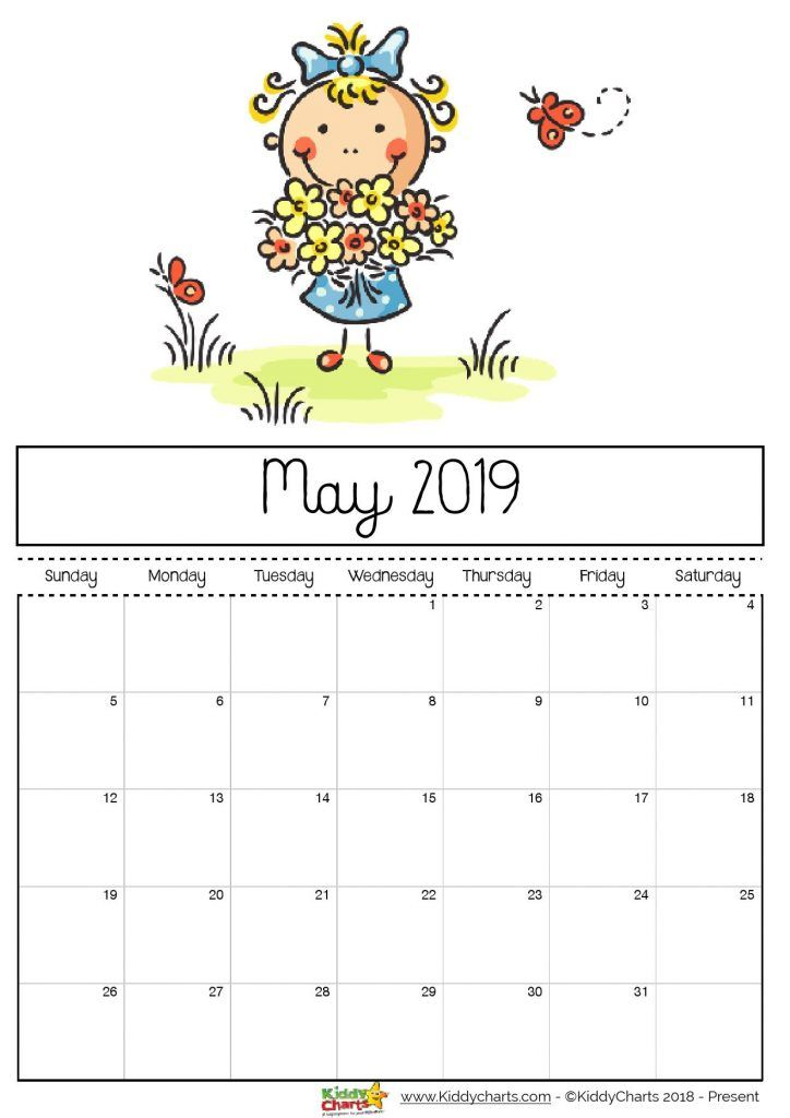 check out our fantastic free 2019 calendar for your child