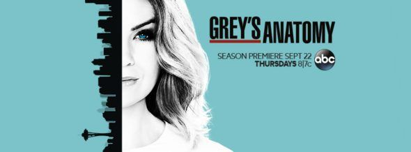 GREY'S ANATOMY : Audiences de la saison 13 sur ABC
