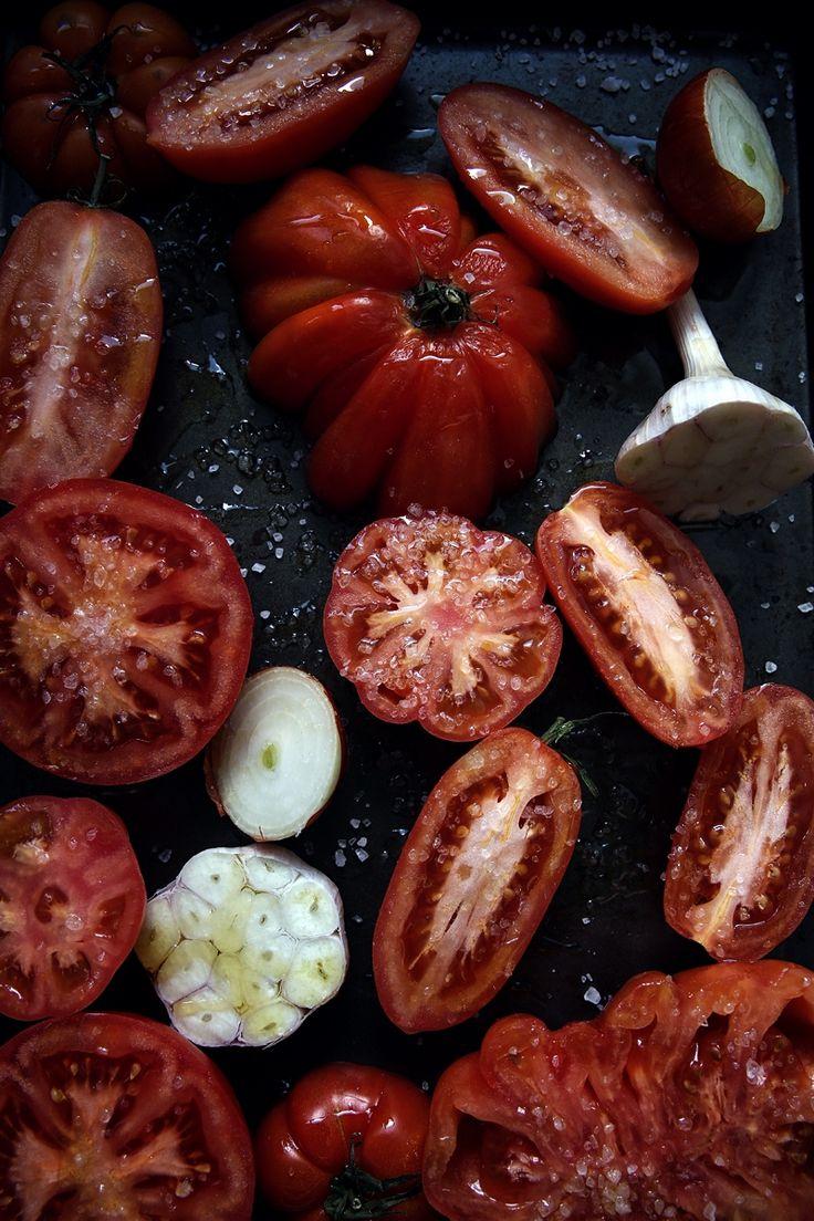 St[v]ory z kuchyne | Roasted tomatoes soup