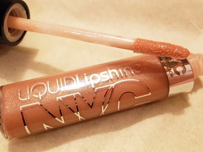 "Liquid Lipshine in ""Nude York City"" @Influenster  @NYC New York Color"