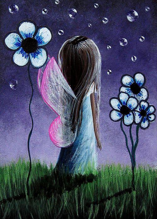 Garden Fairy By Shawna Erback