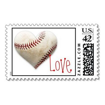 Wedding, Invitations, Love, Postage, Envelopes, Wedding postage, Baseball, Wedding stamps