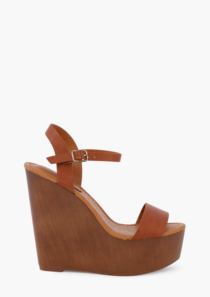 Wooden Wedges <3 must-have for Summer! $34.99