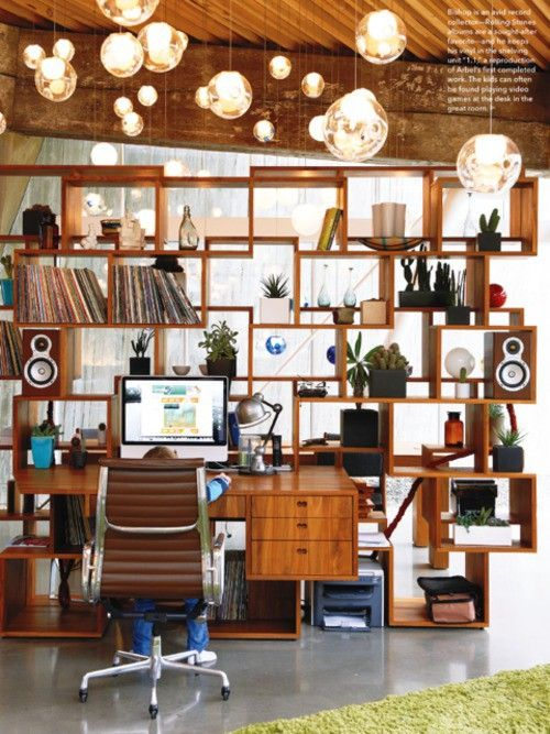 Shelves & Creative Spaces