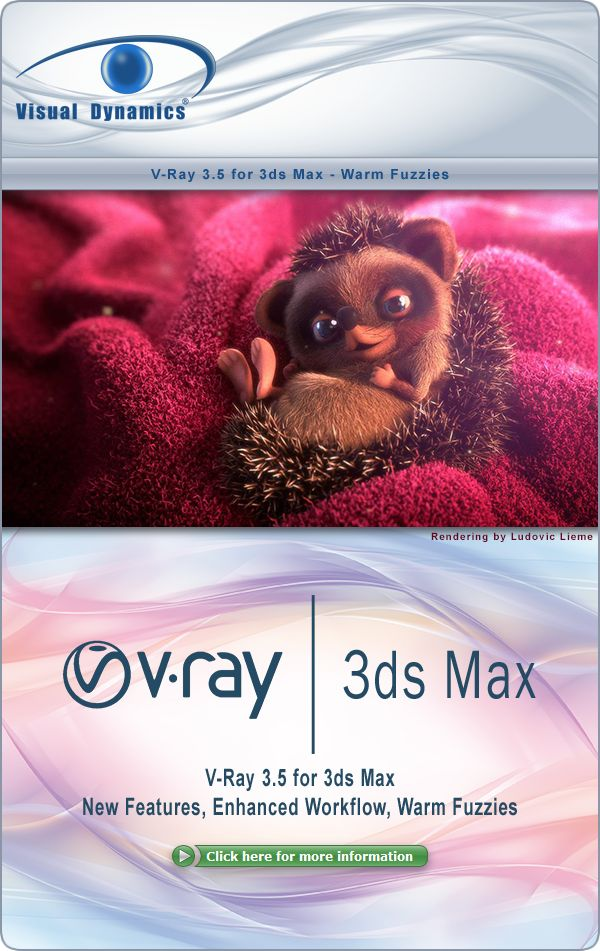 V-Ray 3.5 for 3ds Max - Warm Fuzzies