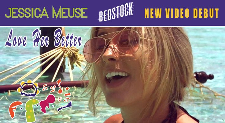 """It's #GivingTuesday and Jess Meuse is performing for sick kids stuck in their beds for MyMusicRx's Bedstock 2017! Check out her track """"Love Her Better"""" filmed on an island in the Maldives and support this great Children's Cancer Association cause. """"Love Her Better"""" will be on Meuse's new album, coming early 2018! https://www.youtube.com/watch?v=GE-WyCooWYo"""