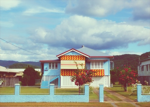 A Queenslander just outside of Mossman. I love this side of Australia, fun and very quirky.