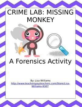 Crime lab - missing monkey