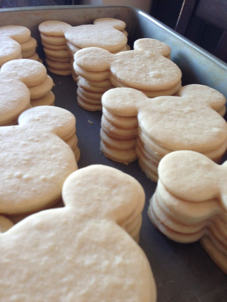 how to make mickey mouse cookies