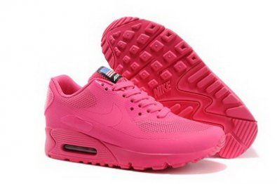 Nike Air Max 90 Hyperfuse con EE.UU. bandera de color rosa http://www.esnikerun.com/