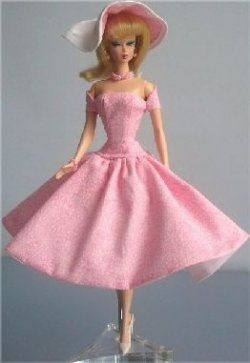 Sewing Vintage Barbie Doll Clothes