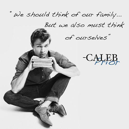 Ansel Elgort as Caleb Prior