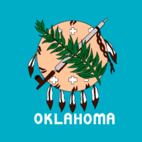 coloring pages oklahoma state flag - photo#32