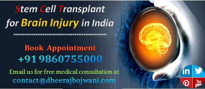 One can get benefit of stem cell transplantation at moderate cost in India to treat various types of brain diseases in concern with Dheeraj Bojwani Consultants.