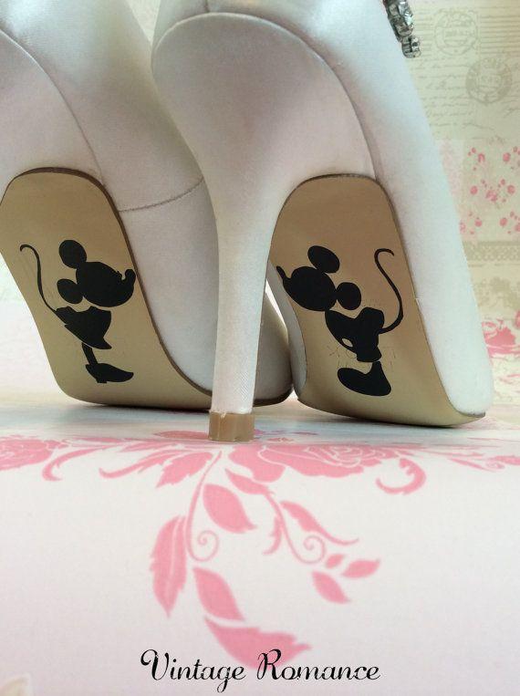 Disney sposa giorno scarpa suola le di vintageromance2015 su Etsy