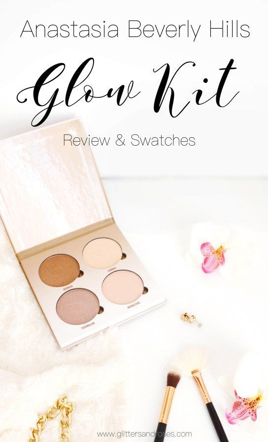 ANASTASIA BEVERLY HILLS - SUN DIPPED GLOW KIT   Review & swatches