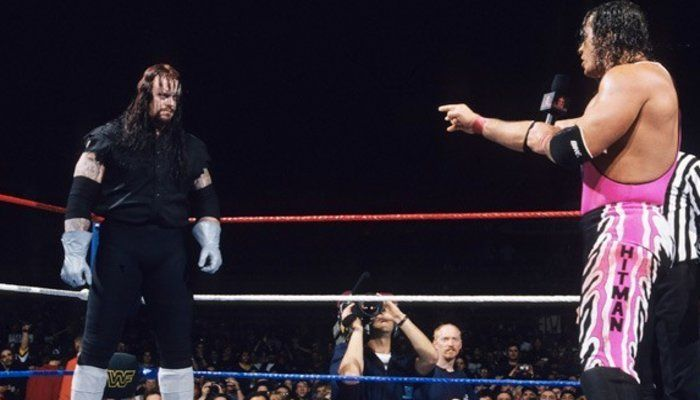 Bret Hart Reveals What He Told The Undertaker After The Montreal Screwjob