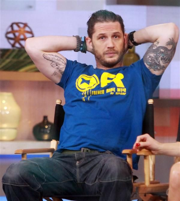 Tom Hardy on 'Good Morning America' - Tom Hardy: 10 times the star of 'The Revenant' was too hot to handle
