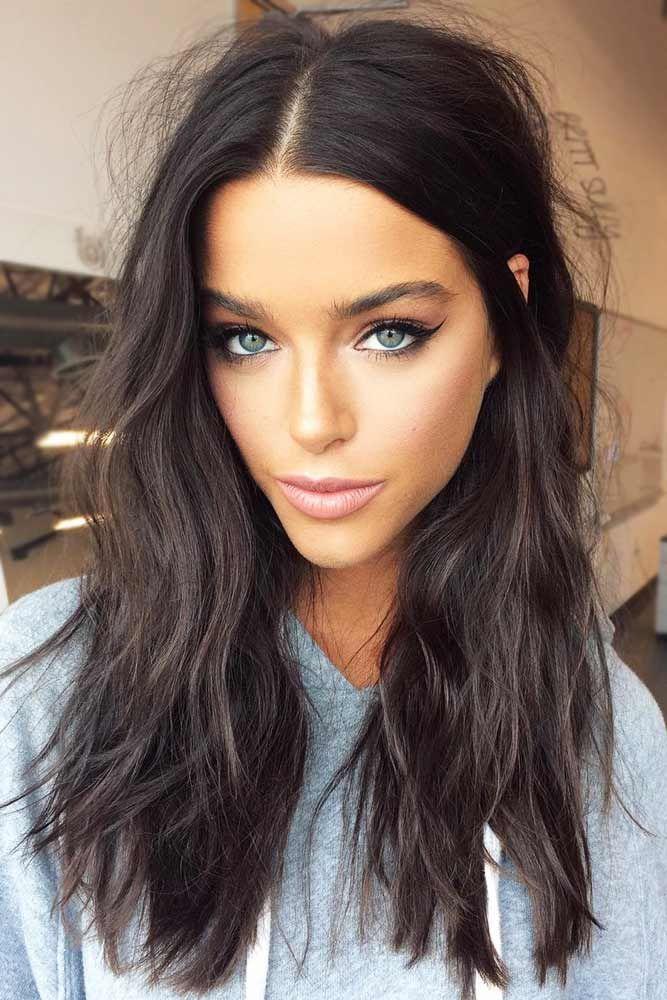 30 schmeichelnde Haarschnitte und Frisuren für Diamond Face Shape