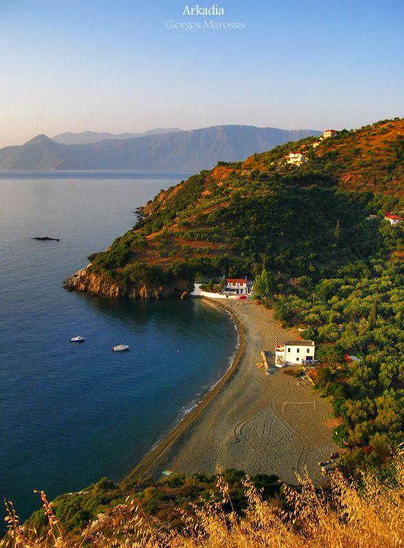 Sabatiki village in Arkadia, Peloponnese peninsula - Greece #kitsakis