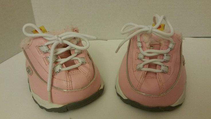 Pink Build a Bear Sketcher sneakers tennis shoes #BuildaBear