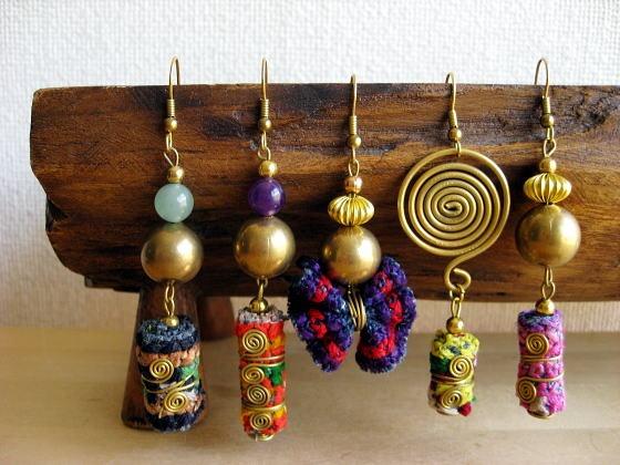 Hill Tribe Hmong Earrings
