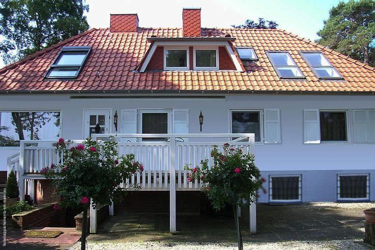 #Ferienhaus UNSER SOMMERHAUS in Timmendorfer Strand. Mit großer Terrasse zur Seeseite.