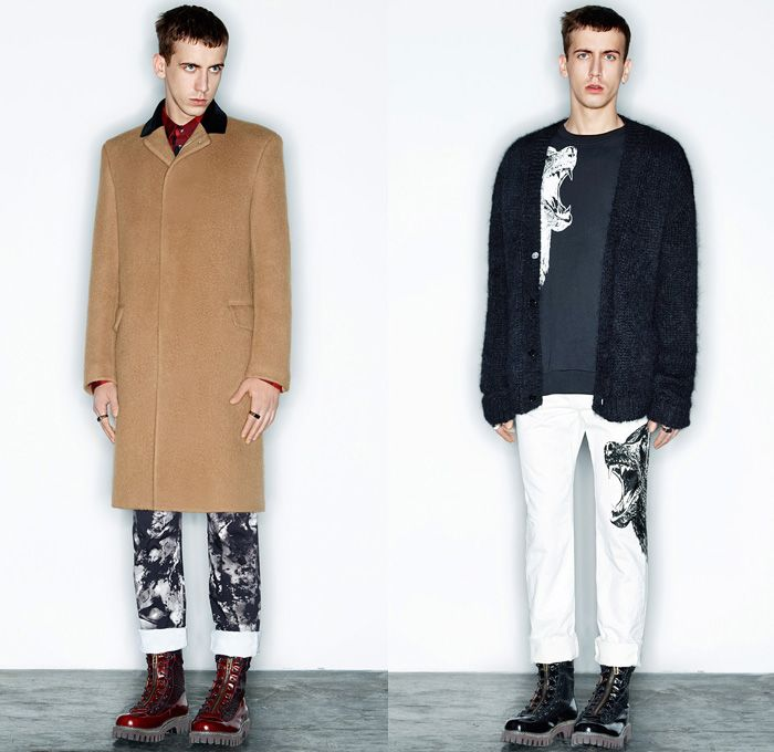 McQ Alexander McQueen 2014-2015 Fall Winter Mens Lookbook Presentation -  Mode Masculine Paris France