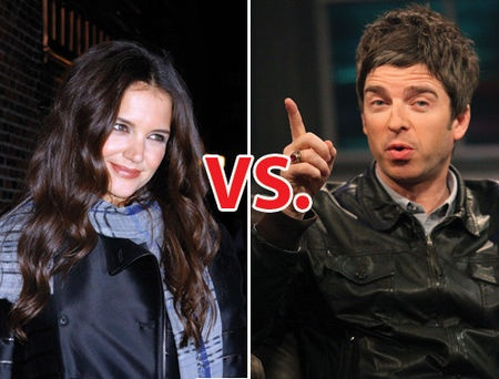 Katie Holmes vs. Noel Gallager
