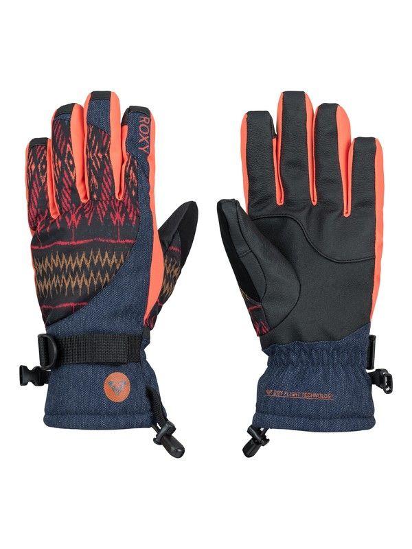 Roxy - Merry Go Round Snowboard Gloves.