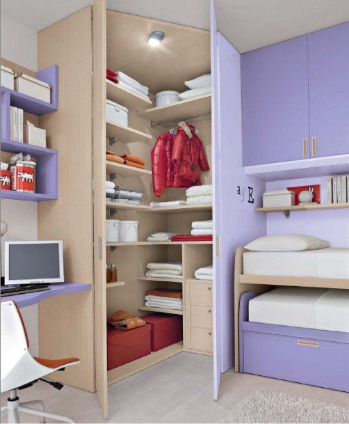 Oltre 25 fantastiche idee su armadio angolare su pinterest rimodellare l 39 armadio disposizione - Cabina armadio angolare misure ...