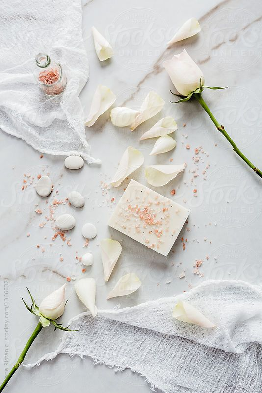 Natural soap with rose by Tatjana Ristanic for Stocksy United
