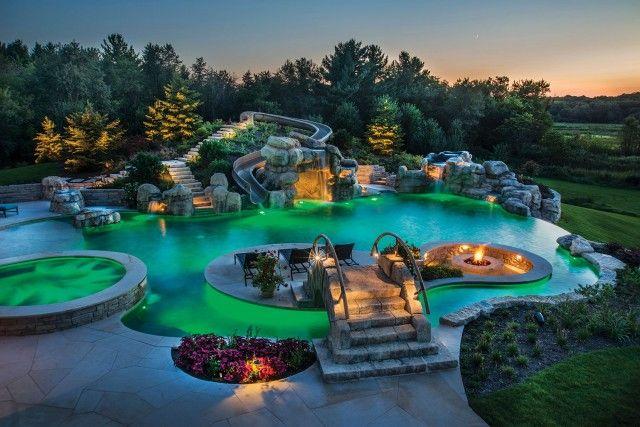 Extreme Backyard Pools Model Custom Inspiration Design