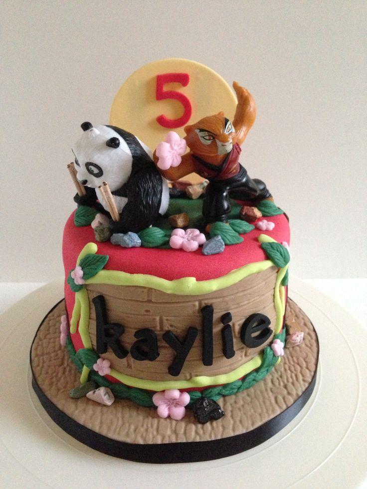 Kung Fu Panda Cake By Baked Keepsakes Baked Keepsakes