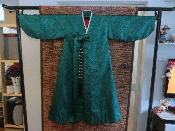 Vintage Korean Traditional Clothe hanbok man by kimonocuty on Etsy