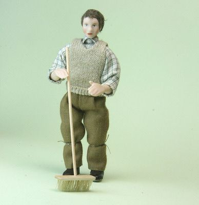 Make Brooms and Brushes for a Range of Miniature Scenes and Scales