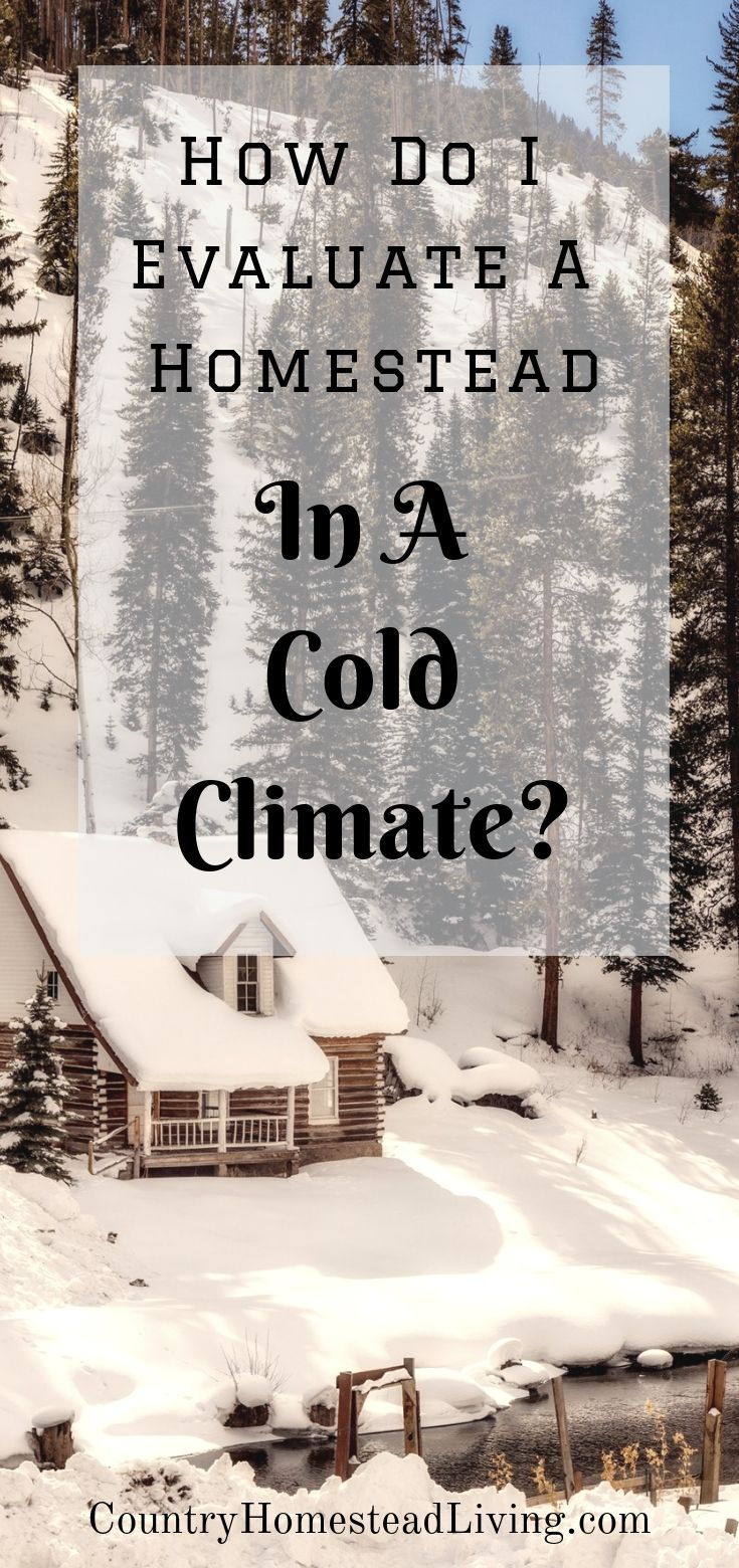 When Moving To A Cold Climate The Challenge Of Evaluating A