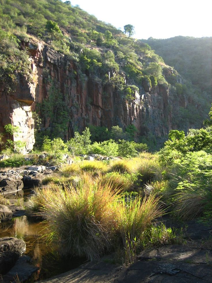 Nahoon River Cliff near East London, South Africa