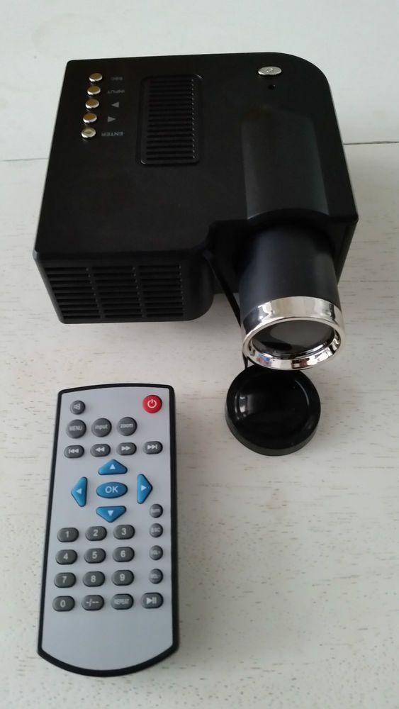 MINI PROJECTEUR LED LCD 20k+ 60   A/V,USB,SD,48 LUMENS,SILENT COOLING,320x240