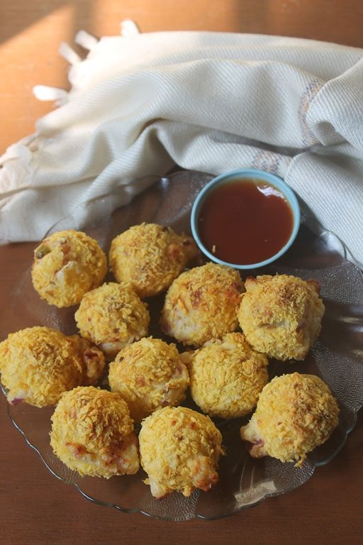 Crispy Paneer Cheese Balls in a Air Fryer - Healthy Snack Ideas