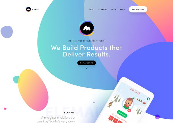 Web Design Trends 2019 32 New Examples Web Design Trends Web Design Websites Web Development Design
