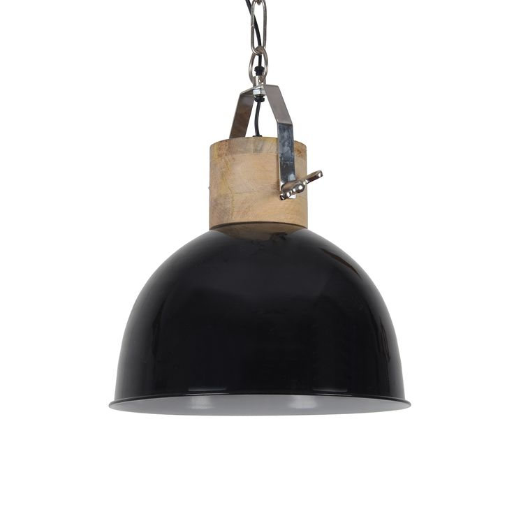 Hanglamp Fabriano 40 cm glans zwart (6107) #Pakhuis3 #Collectione #Lamp