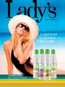 A aparut noul catalog ladys mai iunie 2013, acesta este catalogul numarul 4.