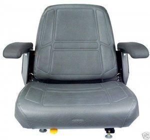 Charcoal Gray Seat, Bunton,Bobcat,Dixie,Snapper,Toro,Exmark Zero Turn Mower #JV
