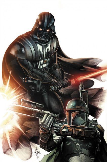 A arte de Mike Deodato Jr para Vader Down ~ Universo Marvel 616