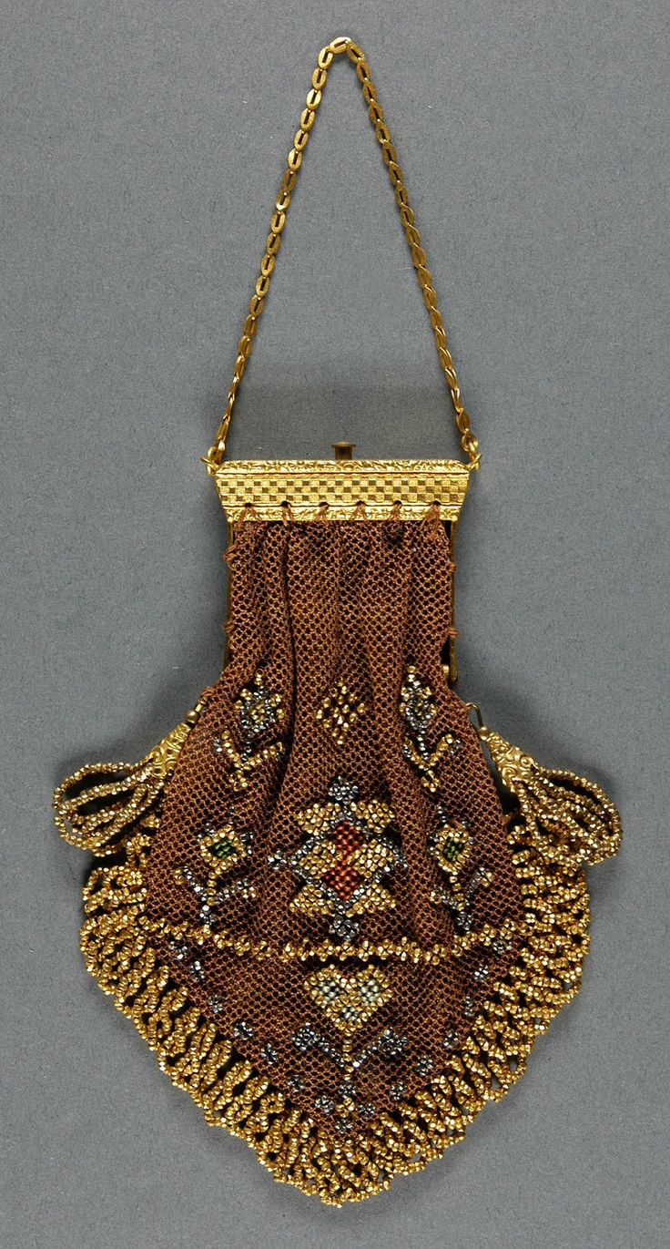 Philadelphia Museum of Art - Collections Object : Woman's Purse, mid to late 19th century
