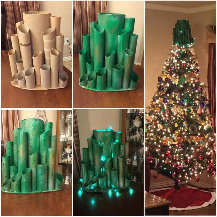 Emerald City tree topper