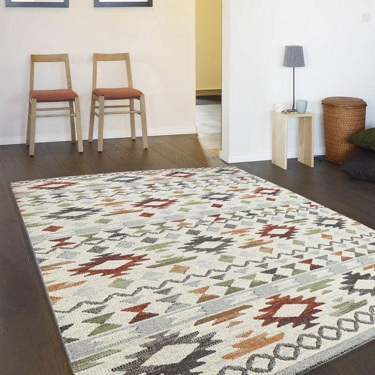 Die besten 25+ Mehrfarbige teppiche Ideen auf Pinterest Orange - teppich wohnzimmer beige
