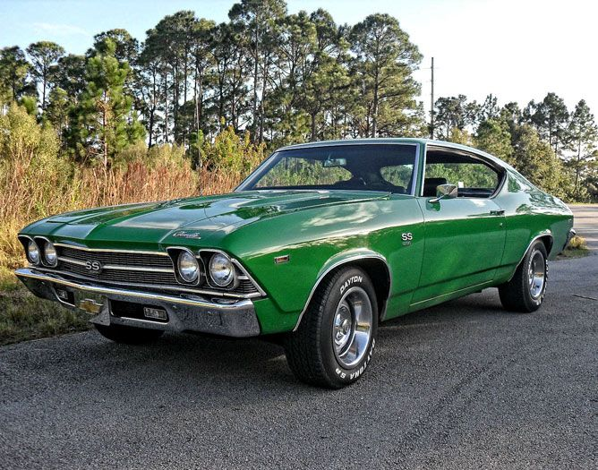 1969 CHEVELLE SS 454.