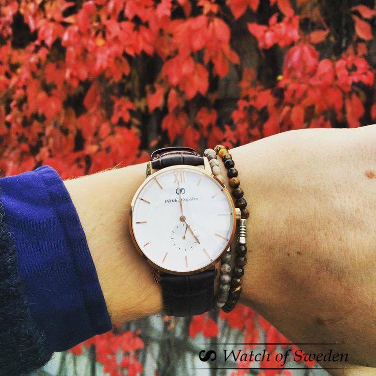Beautiful gold rose watch!